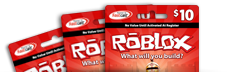 ROBLOX Gamecards
